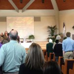 UCA Church worship service